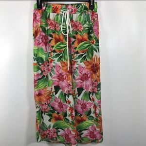 Oober Swank Floral Culottes